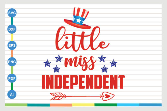 Little Miss Independent Graphic Crafts By sajidmajid441