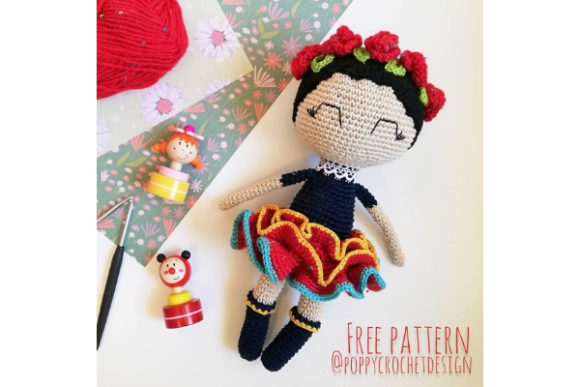 Margarita the Mexican Doll Crochet Pattern Graphic Crochet Patterns By Needle Craft Patterns Freebies