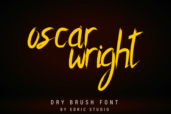 Print on Demand: Oscar Wright Script & Handwritten Font By EdricStudio - Image 2