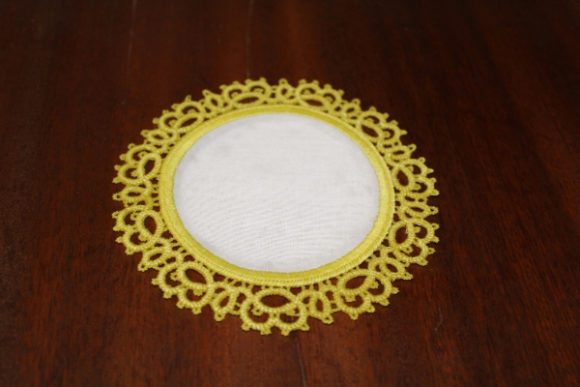 Round Daily Tatting Sewing & Crafts Embroidery Design By ImilovaCreations - Image 3