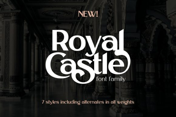 Print on Demand: Royal Castle Sans Serif Font By Lone Army