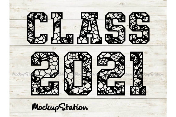 Print on Demand: Senior Class 2021 Graphic Crafts By Mockup Station