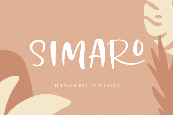 Print on Demand: Simaro Script & Handwritten Font By Pasha Larin