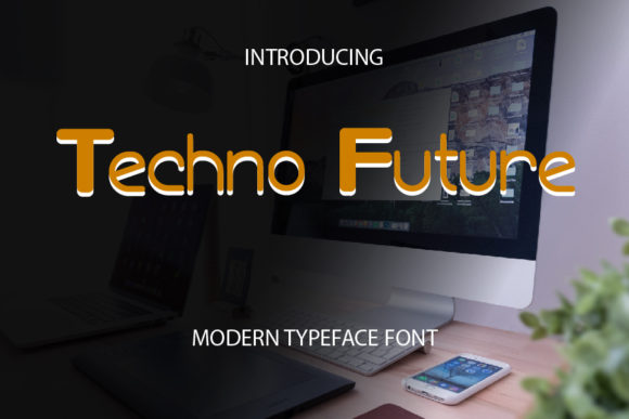 Print on Demand: Techno Future Sans Serif Font By mizanstudio