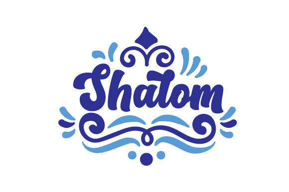 Shalom Jewish Craft Cut File By Creative Fabrica Crafts