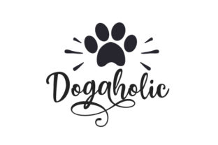 Dogaholic Dogs Craft Cut File By Creative Fabrica Crafts
