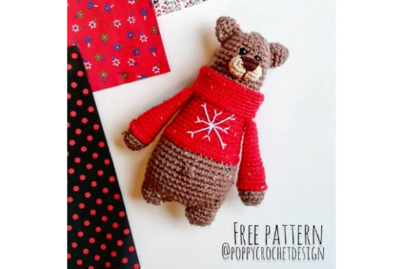 Barney Bear Crochet Pattern Graphic Crochet Patterns By Needle Craft Patterns Freebies
