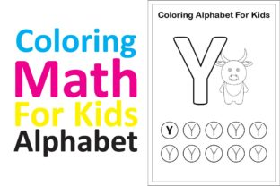 Print on Demand: Coloring Math for Kids Alphabet Y Graphic K By studioisamu