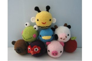 Crochet Animal Toys for Baby Pattern Graphic Crochet Patterns By Amy Gaines Amigurumi Patterns