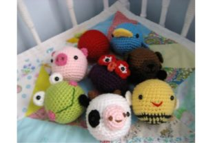 Crochet Animal Toys for Baby Pattern Graphic Crochet Patterns By Amy Gaines Amigurumi Patterns 2