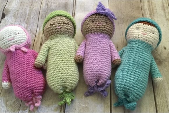 Crochet Baby Doll Patterns Graphic Crochet Patterns By Amy Gaines Amigurumi Patterns - Image 2