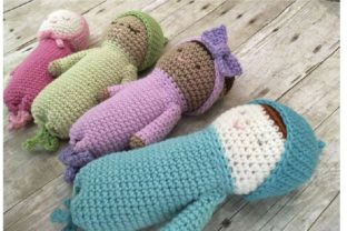 Crochet Baby Doll Patterns Graphic Crochet Patterns By Amy Gaines Amigurumi Patterns 4