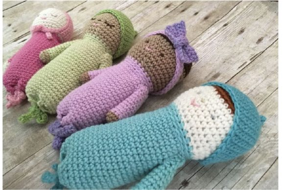 Crochet Baby Doll Patterns Graphic Crochet Patterns By Amy Gaines Amigurumi Patterns - Image 4