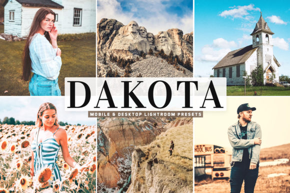 Print on Demand: Dakota Pro Lightroom Presets Graphic Actions & Presets By Creative Tacos