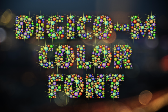 Print on Demand: Digico - M Color Fonts Font By glukfonts