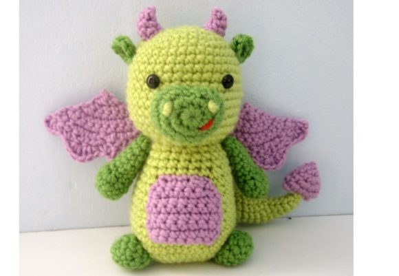 Dragon Amigurumi Crochet Pattern Graphic Crochet Patterns By Amy Gaines Amigurumi Patterns