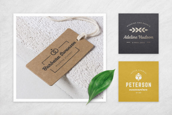 Elegant Logos Bundle Graphic Graphic