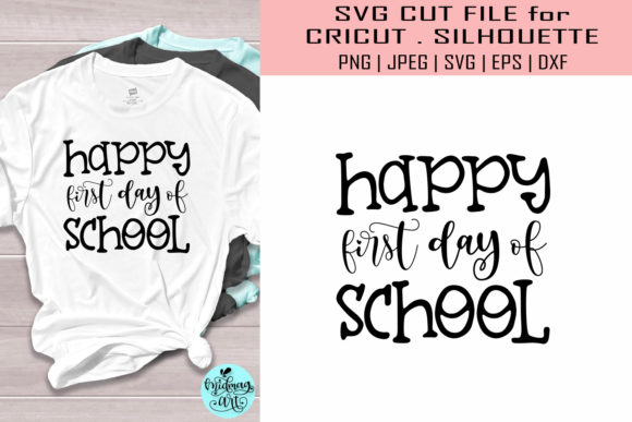 Happy First Day of School Graphic Objects By MidmagArt