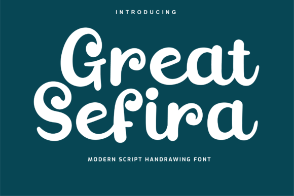Print on Demand: Great Sefira Script & Handwritten Font By Productype
