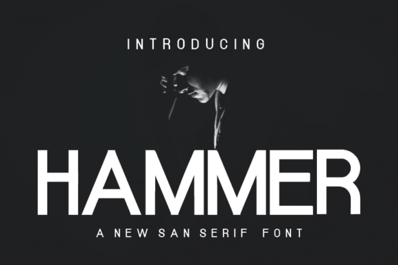 Print on Demand: Hammer Sans Serif Font By nabarya.business