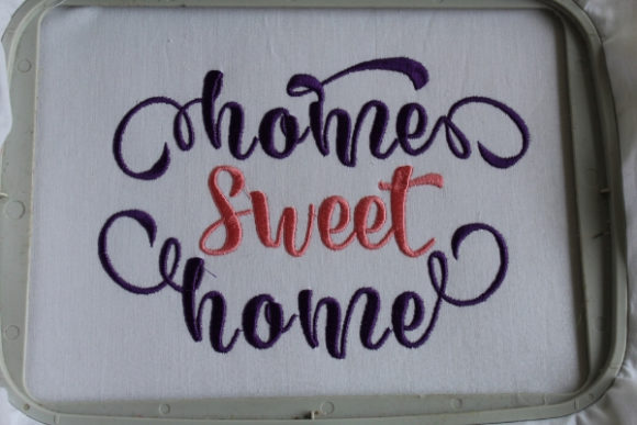 Home Sweet Home Embroidery Download
