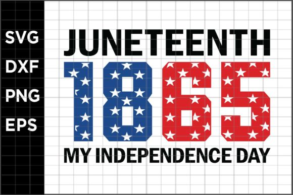 Download Free Juneteenth 1865 My Independence Day Graphic By Spoonyprint for Cricut Explore, Silhouette and other cutting machines.