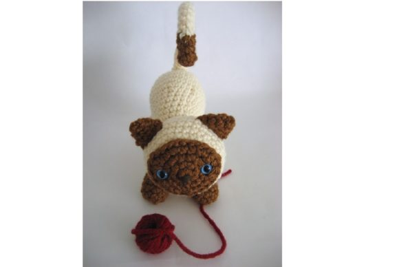 Kitten Amigurumi Crochet Pattern Graphic Crochet Patterns By Amy Gaines Amigurumi Patterns - Image 3