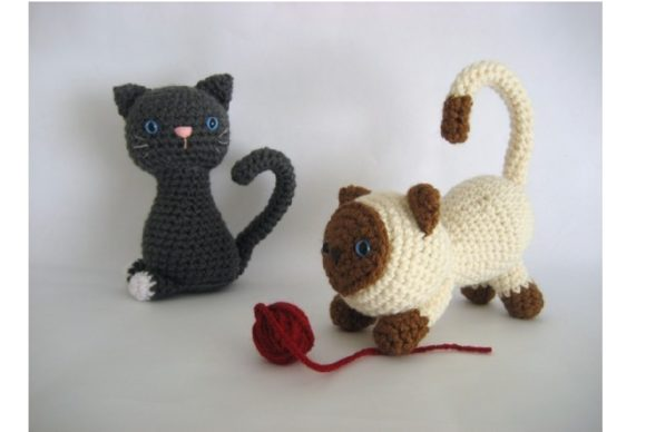 Kitten Amigurumi Crochet Pattern Graphic Crochet Patterns By Amy Gaines Amigurumi Patterns - Image 4
