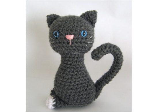 Kitten Amigurumi Crochet Pattern Graphic Crochet Patterns By Amy Gaines Amigurumi Patterns - Image 5