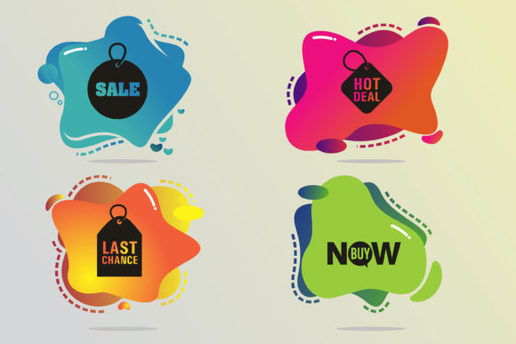 Special Offer Sale Labels Graphic Infographics By onoborgol
