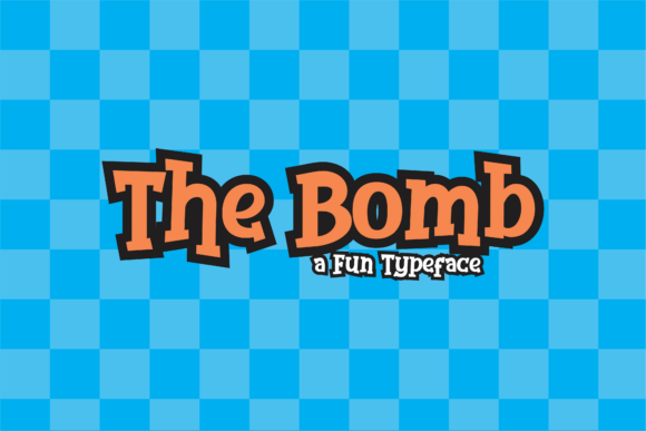 Print on Demand: The Bomb Display Font By dickysyafaat