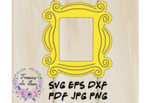 Yellow Frame for Front Door Peep Hole Graphic Crafts By Treasures In June