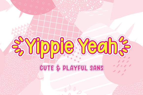 Print on Demand: Yippie Yeah Script & Handwritten Font By almarkhatype