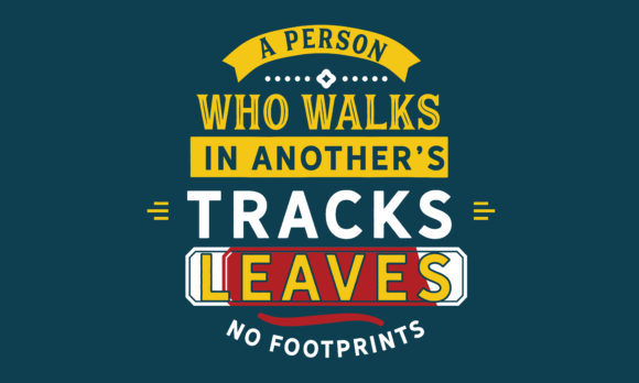 Print on Demand: A Person Who Leaves No Footprints Graphic Illustrations By baraeiji