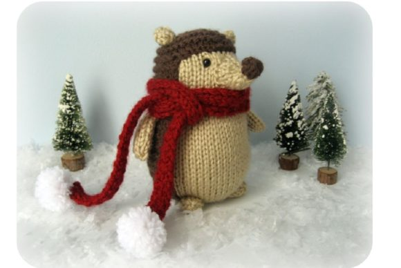 Amigurumi Knit Hedgehog Pattern Graphic Knitting Patterns By Amy Gaines Amigurumi Patterns