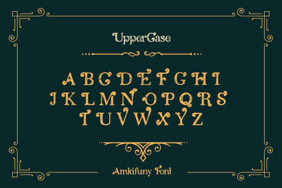 Amkifuny Font Preview