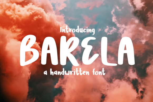 Print on Demand: Barela Display Font By Scratch Design