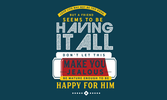 Print on Demand: Be Mature Enough to Be Happy for Him. Graphic Illustrations By baraeiji