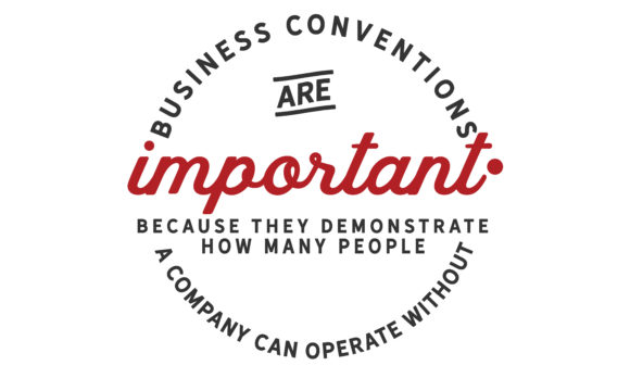 Print on Demand: Business Conventions Are Important Graphic Illustrations By baraeiji