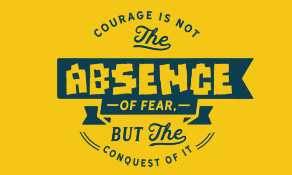 Print on Demand: Courage is Not the Absence Graphic Illustrations By baraeiji