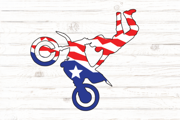 Print on Demand: Dirt Bike Graphic Illustrations By rayan