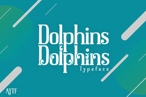 Print on Demand: Dolphins Serif Font By alandya typefoundry