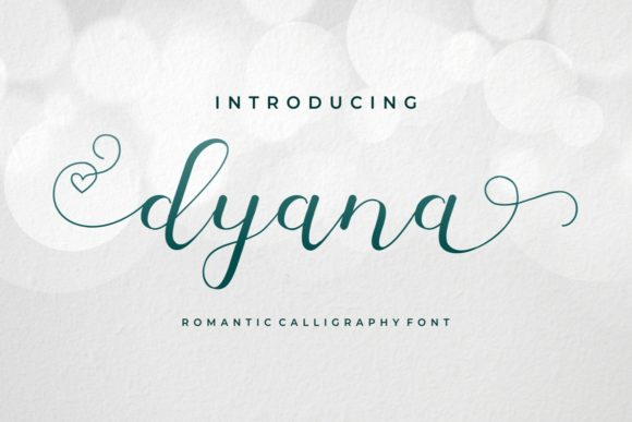 Print on Demand: Dyana Script & Handwritten Font By yunitaecy