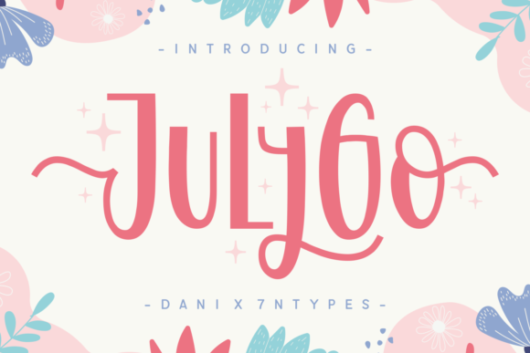 Print on Demand: Julygo Display Font By Dani (7NTypes)