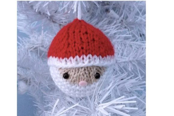 Knit Christmas Balls Ornament Pattern Graphic Knitting Patterns By Amy Gaines Amigurumi Patterns - Image 3