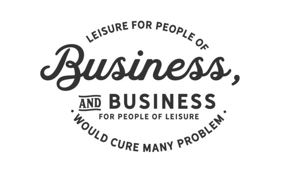 Print on Demand: Leisure for People of Business Graphic Illustrations By baraeiji