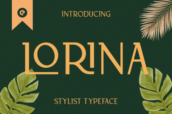 Print on Demand: Lorina Display Font By eotype