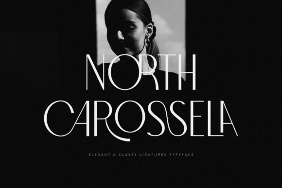 Print on Demand: North Carossela Sans Serif Font By BrandSemut