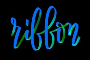 Print on Demand: Ribbon Graphic Brushes By Design 2 Last