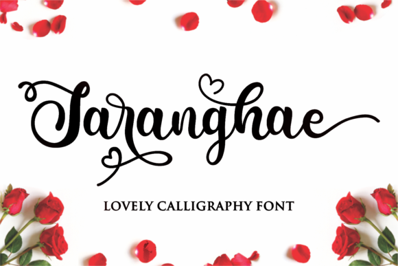 Print on Demand: Saranghae Script & Handwritten Font By Girinesia